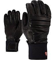 Ziener Glazier AS PR - guanti da sci - uomo, Black