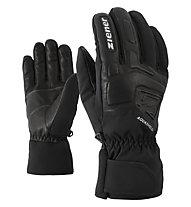 Ziener Glyxus AS - guanti da sci - uomo, Black