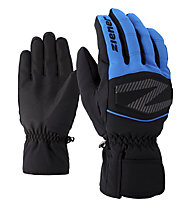 Ziener Golif - Skihandschuhe - Herren, Black/Light Blue