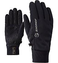 Ziener Irios GWS Touch - guanti softshell - unisex, Black