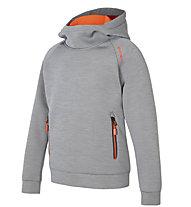 Ziener Jirko - Kapuzenpullover - Kinder, Grey/Orange