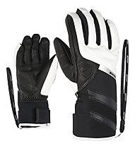 Ziener Kriki AS PR - Skihandschuhe - Damen, Black/White