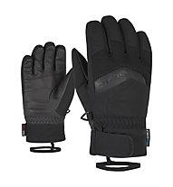 Ziener Labino AS - guanti da sci - bambino, Black