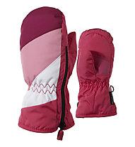 Ziener Lesportico AS Mini Kinder-Skihandschuhe/Fäustlinge, Pop Pink