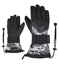 Ziener Milan AS® - guanti da snowboard - uomo, Grey/Black