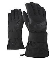Ziener Milan AS® - guanti da snowboard - uomo, Black/Black