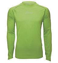 Zoot Microlite+ LS Tee maglia running, Green Flash Heather