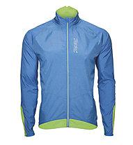 Zoot Ultra Flex Wind giacca a vento, Blue Heather/Green Flash